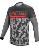 Alpinestars Cross shirt VENTURE-R Grijs/CAMO/Rood