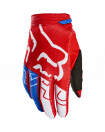 Fox Youth 180 Skew Glove White Red Blue