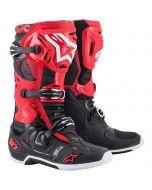 Alpinestars crosslaarzen Tech 10 rood zwart