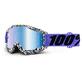100% ACCURI crossbril BRENTWOOD spiegel blauw