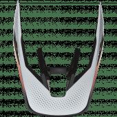 Fox V3 RS Helmet Visor Relm Black White