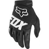 Fox Jeugd Dirtpaw cross handschoenen Race zwart