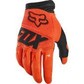 Fox Jeugd Dirtpaw cross handschoenen Race Fluo oranje