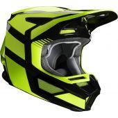 Fox V2 HAYL Cross helm Fluo geel