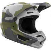 Fox Jeugd V1 PRZM Camo Cross helm