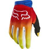 Fox Jeugd Dirtpaw FYCE cross handschoenen blauw rood