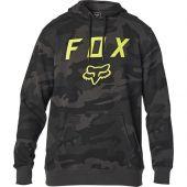 Fox Legacy Moth Camo Pullover Fleece Black Camo
