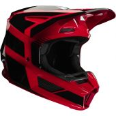 Fox Youth V2 HAYL Helmet Flame Red