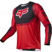 Fox Youth 360 VOKE Jersey Fluo red