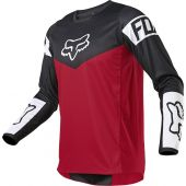 Fox Youth 180 REVN Jersey Flame Red