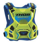 Thor S8 Guardian MX Borstbescherming flo green blue