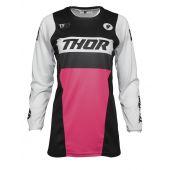 Thor Vrouwen Motorcross Shirt Pulse Racer zwart Pink