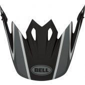 BELL Moto-9 Flex Helmklep - Fasthouse DID 21' Mat Zwart/Grijs/Rood