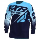 FXR Clutch MX Cross Shirt Hemel Blauw/Midnight Fade