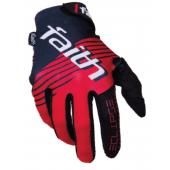 FAITH - BMX handschoenen ECLIPSE Zwart-Rood