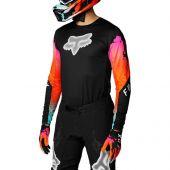 Fox - Flexair Pyre Cross shirt zwart