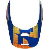 Fox V1 Helmet Visor - OKTIV Blue