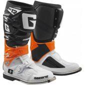Gaerne Crosslaarzen SG-12 Oranje Zwart Wit