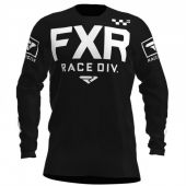 FXR Helium MX Cross Shirt Zwart/Wit