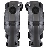 Mobius X8 Kniebeschermers (paar) Storm Grijs/Zwart