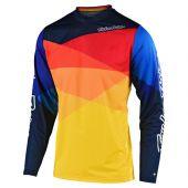 Troy Lee Designs GP Air Cross shirt Jet geel oranje