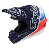 Troy Lee Designs SE4 Composite Silhouette TEAM Helmet Navy White