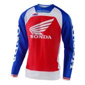 Troy Lee Designs Se Pro Air Cross shirt Boldor Honda Blauw Rood