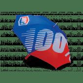 100% Blauw Rode Paraplu