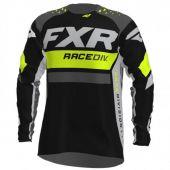FXR Youth Pro-Stretch MX Jersey Revo Hi Vis/Black/Charcoal