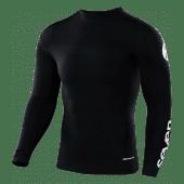 SEVEN ZERO COMPRESSION Cross Shirt Zwart Jeugd