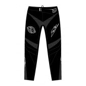 Zulu - Volwassen BMX Broek Shield Zwart Wit