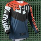 Fox 180 TRICE JERSEY Grijs Oranje XXL