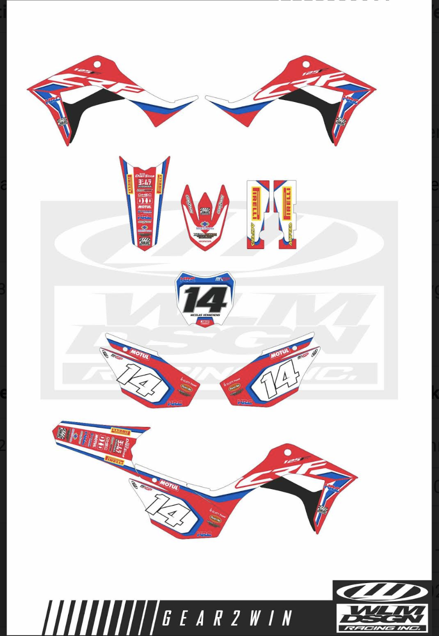 Gear2win Sticker sets